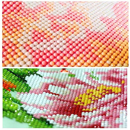 5D DIY Diamond Dog Painting by Number Kits for Adults Round Drill Rhinestone Embroidery Kit for Wall Decoration