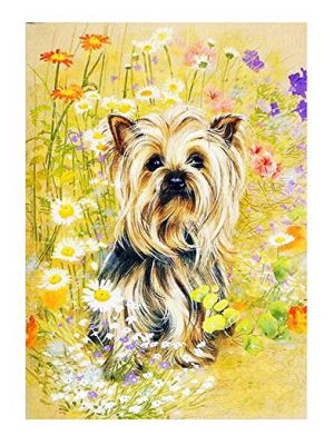 DIY 5D Round Resin Rhinestone Embroidery Cross Stitch Dog Painting kit